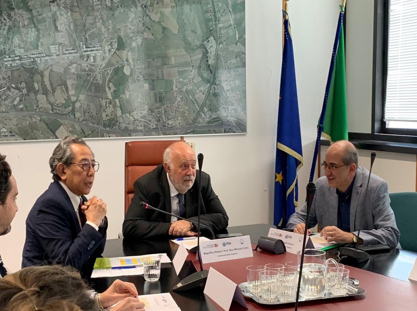 Cordinatore Foro Rhi Sausi, Mag. Rettore, Prof. Natale Arcuri (1)