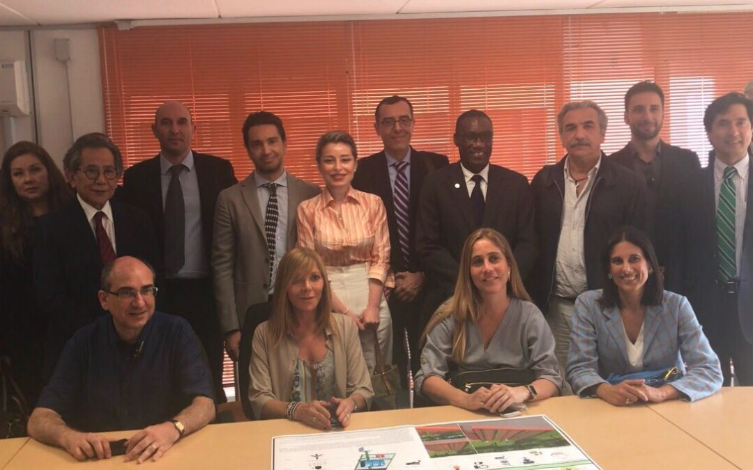 Visita del Servizio di Cooperazione del V Forum PYMES all'Unical