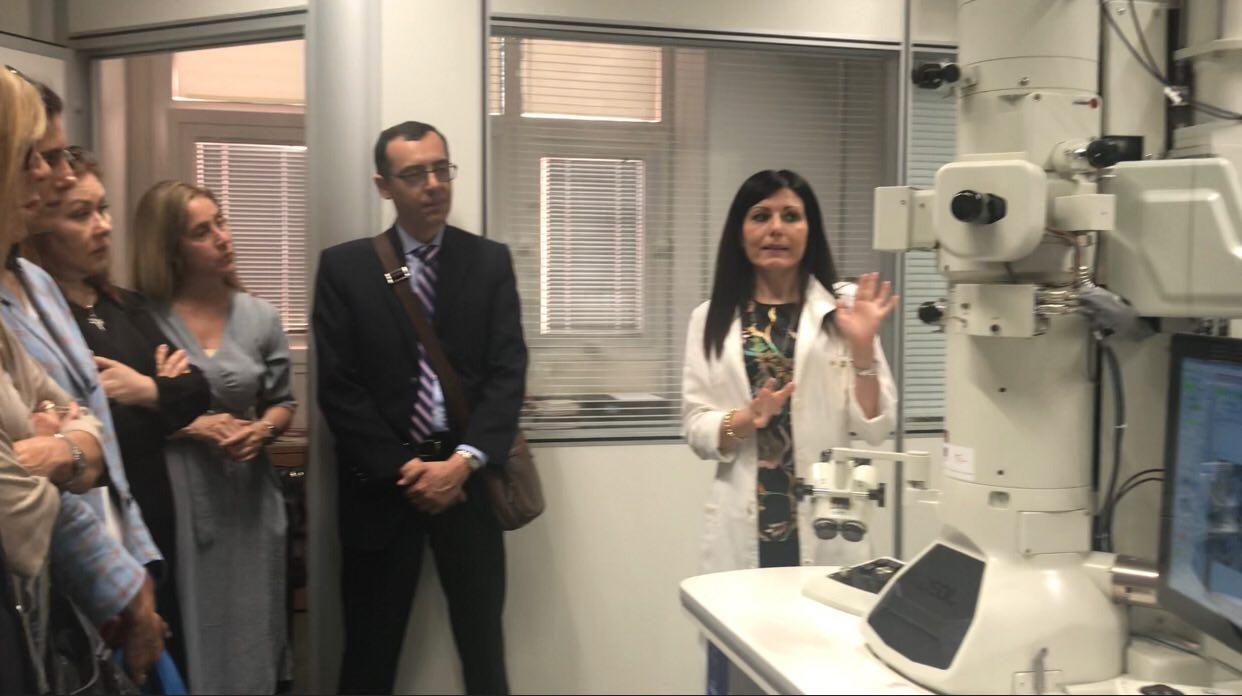 Visita Laboratorio Microscopia e Microanalisi