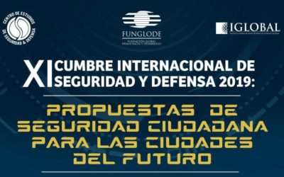 Il Centro Studi Smart City all'XI Cumbre Internacional de seguridad y defensa'