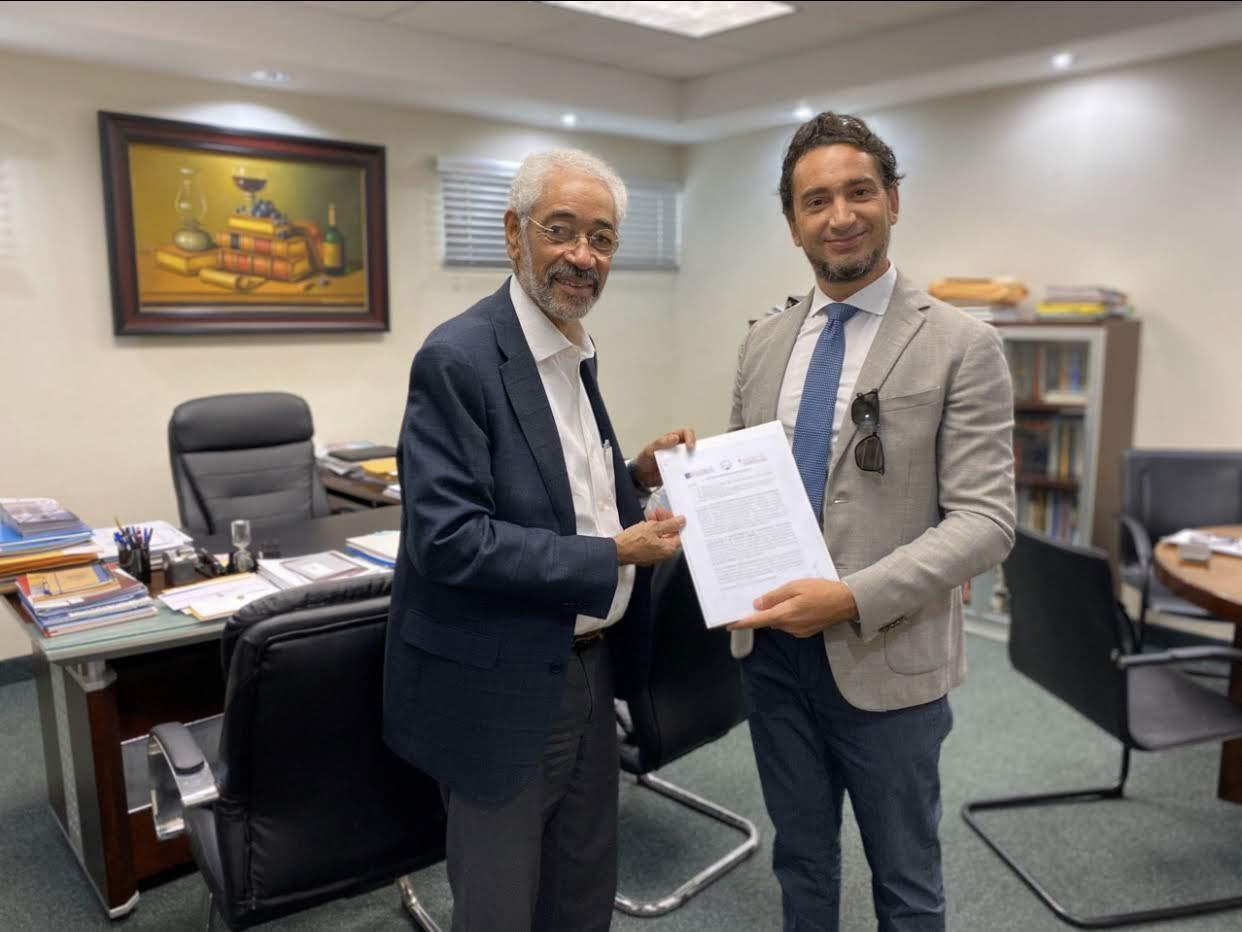Firma Accordo Funglode A Santo Domingo