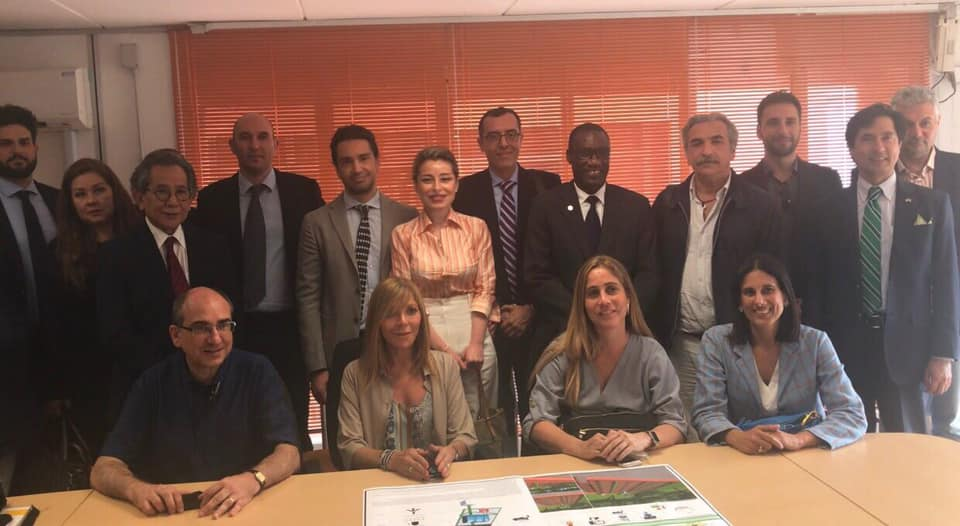 La Delegazione dei Paesi IILA presso Smart City Instruments